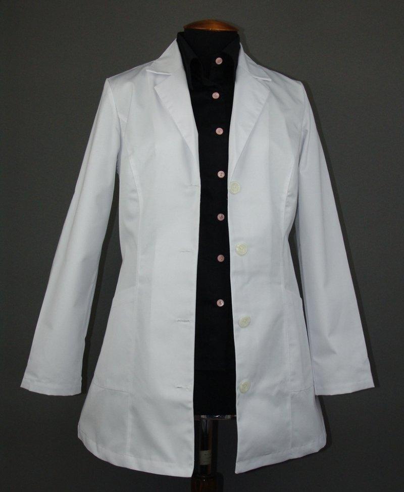 Укороченный халат женский Классика-Север стиль КОСТЮМ (СКЛАД)