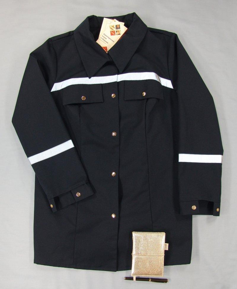 Куртка костюма для выездных бригад женская, демисезонная