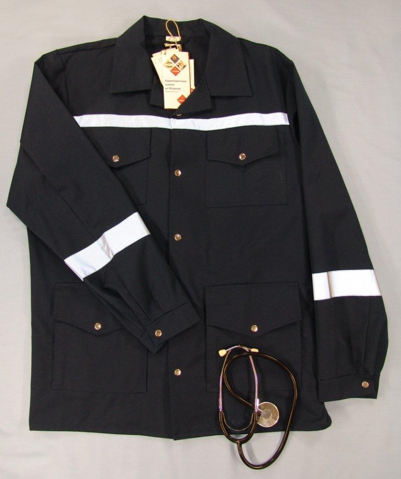Куртка костюма для выездных бригад мужская, демисезонная